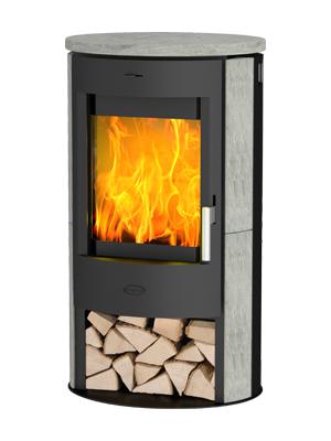 Fireplace Zaria Speksteen
