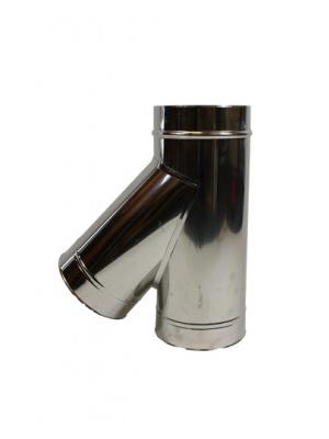 holetherm t-stuk 45 graden met deksel